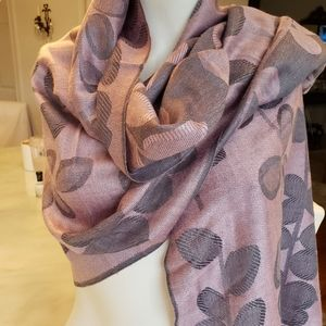 💥10 FOR $75  Violet and grey scarf